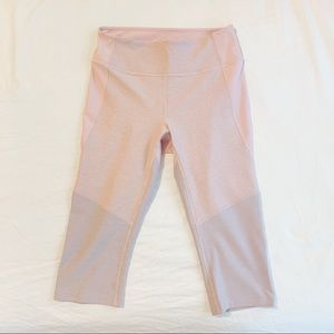 NWOT Outdoor Voices Tri-color Cropped Leggings